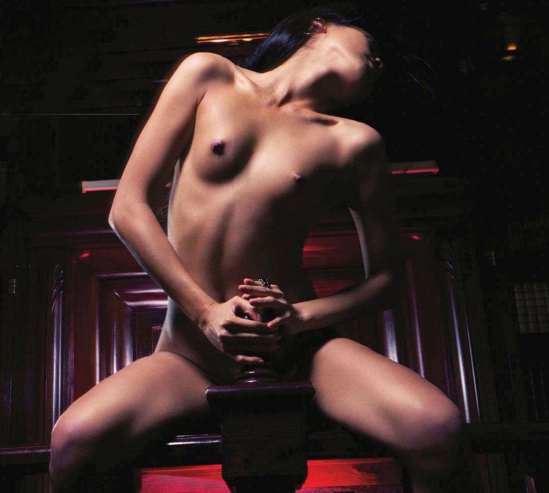Девушка месяца Эппл Вонг / Apple Wang - Playboy Argentina april 2013