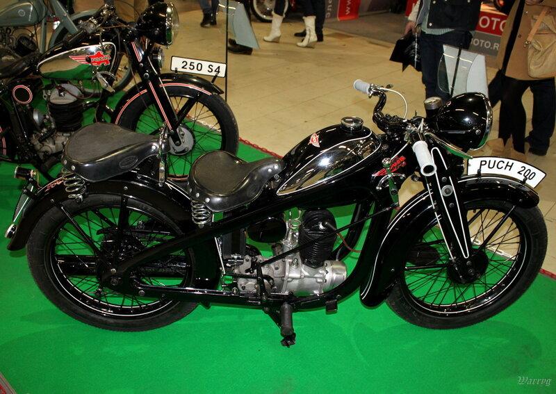 Австрийский мотоцикл Ruch 200