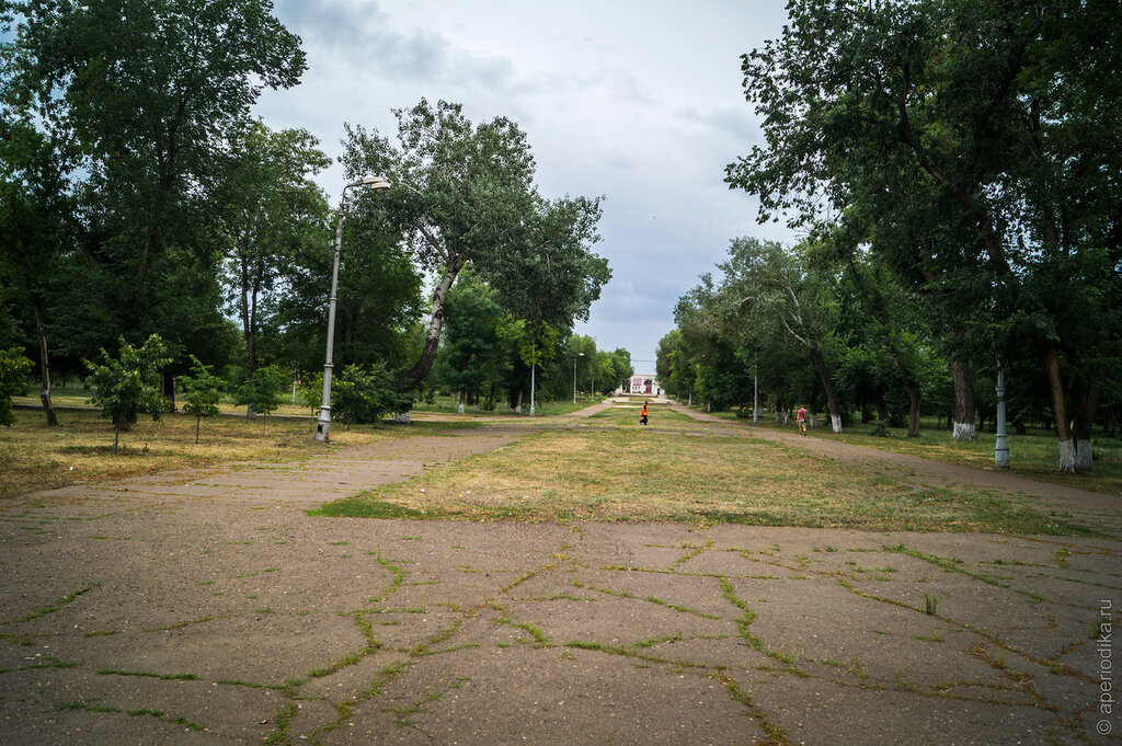 Город Оренбург. Достопримечательности