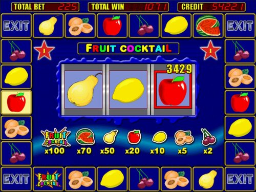 Сразимся в fruit cocktail без регистрации игровые автоматы?