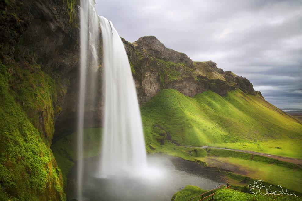 Красивые водопады исландии