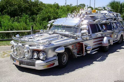 Арт-автомобиль за миллион долларов