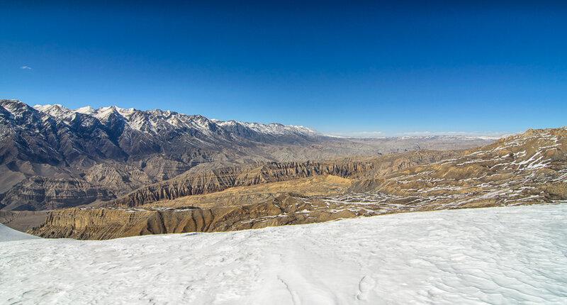 тибетское плоскогорье, снег, гималаи, непал