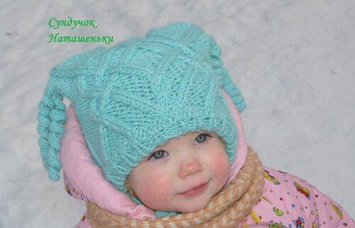 Вязание для девочек спицами и крючком, модели с описанием и