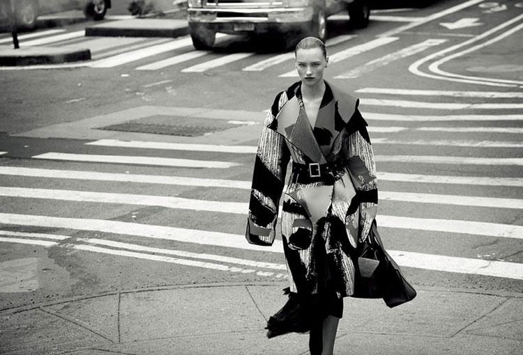 Мила Красноярова в журнале Harper's Bazaar China