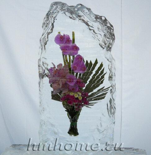 Выставка ледяных цветов — Букеты Снежной королевы