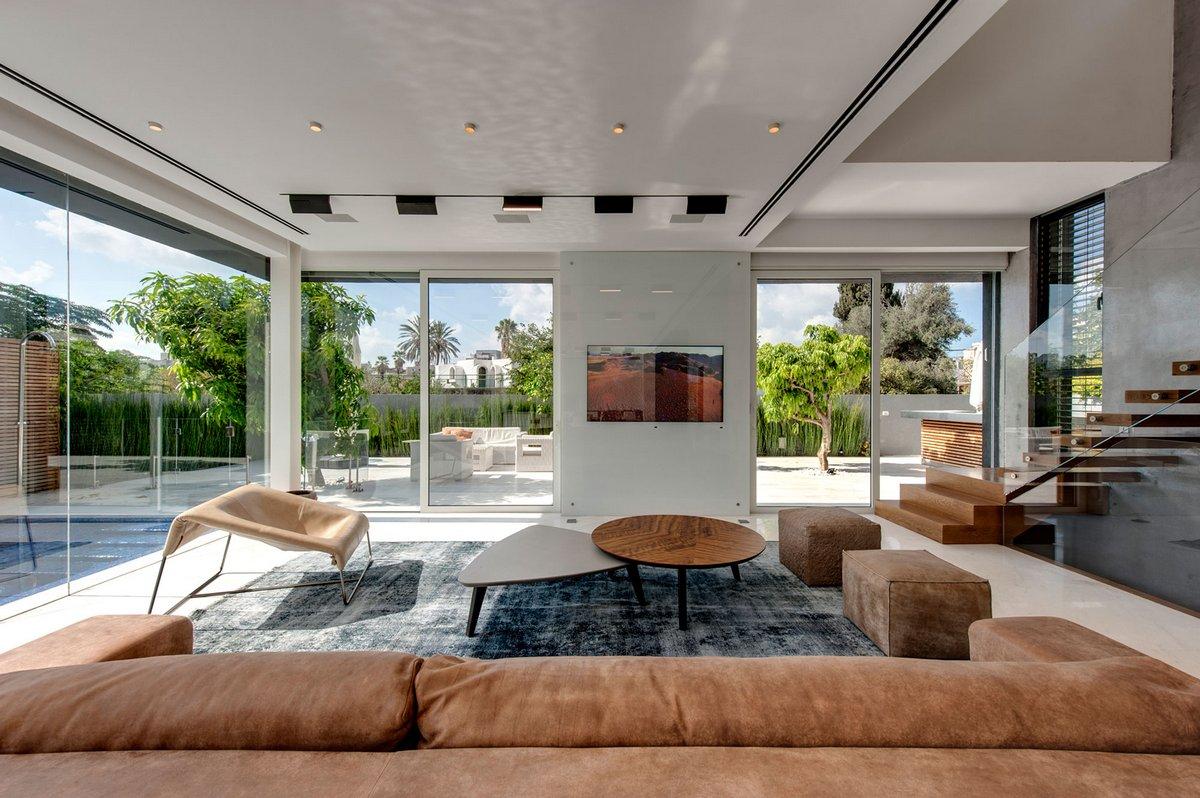 Israelevitz Architects, дизайн двухэтажного дома, дизайн двухэтажных домов фото, дизайн двухэтажных домов внутри, дизайн интерьера двухэтажного дома
