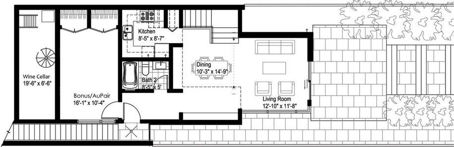 4-этажный частный дом в Сан-Франциско