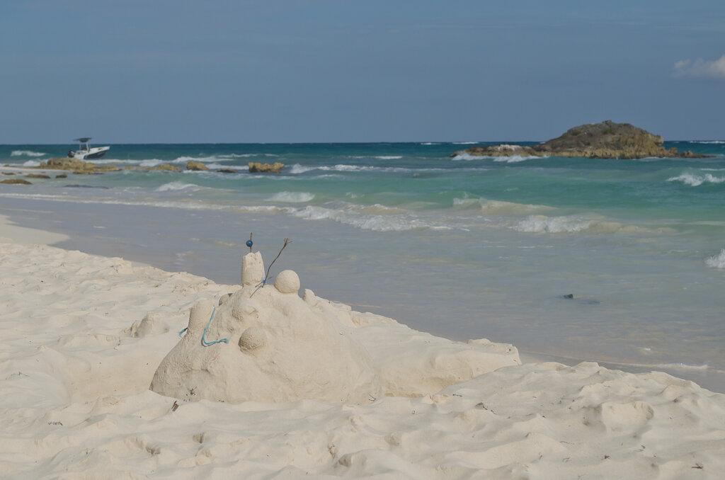 Песчаные замки у Карибского моря. Курорт Тулум. Отзывы
