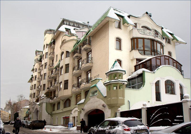 Современная архитектура Москвы.