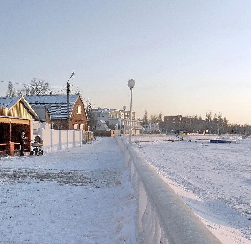 В декабре, на Азовском побережье