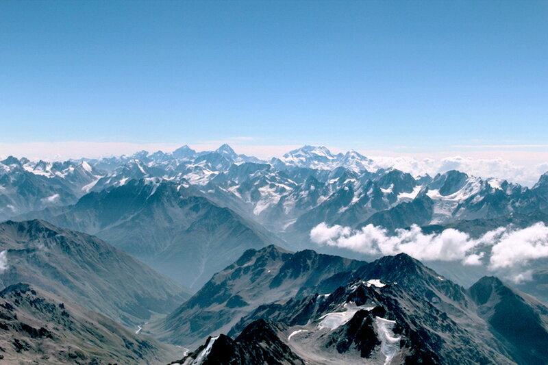 Сентябрь 2012, Кавказ, на Эльбрусе, фотографии Виталия Жигулина