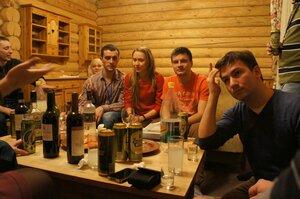 Организатор Школы Юрий Кукушкин (справа)