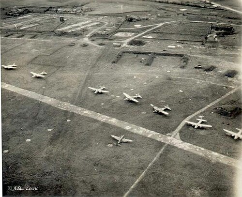 Ki-67s on Matsuyama Airfield, Formosa, 1945