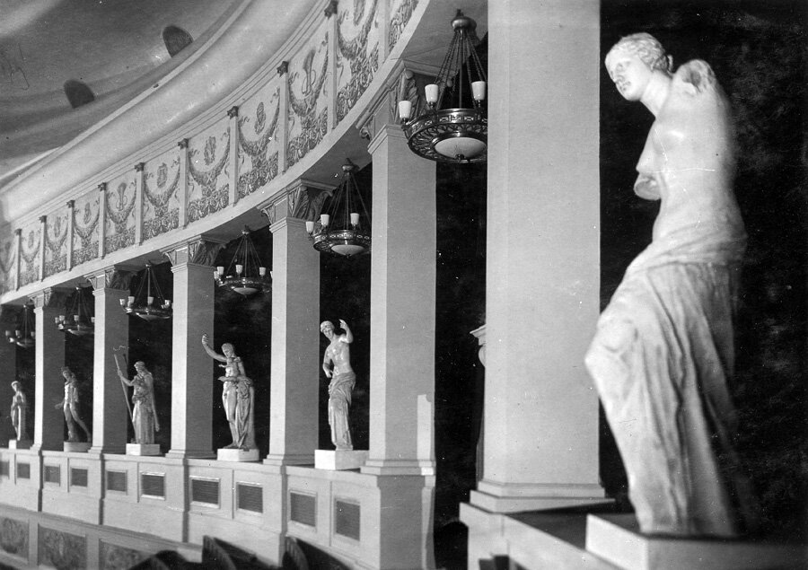 Интерьеры оперного театра