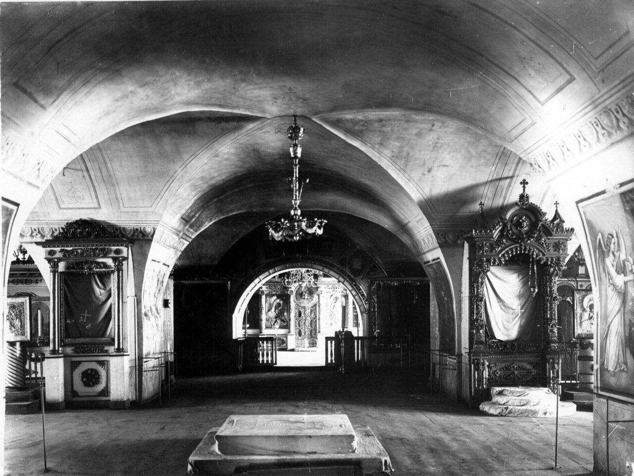 Трапезная палата Успенской церкви Вознесенского Печёрского монастыря
