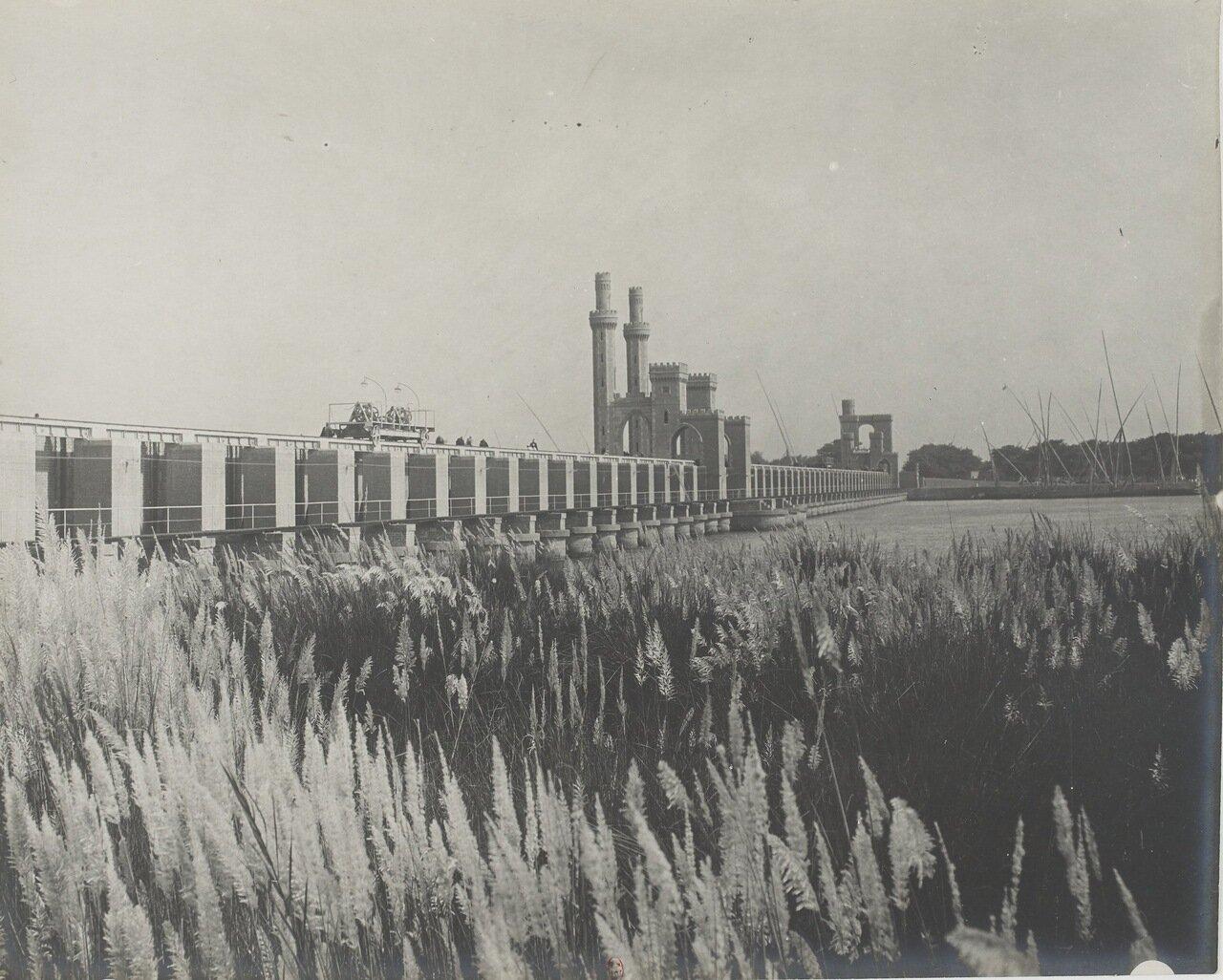 Каир. Плотина на Ниле