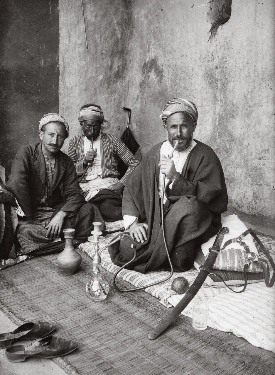 Кофейня в Иерусалиме, Палестина. 1900-1920 г.