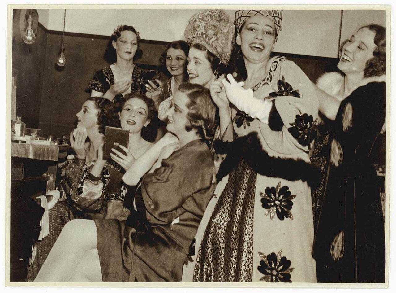 Гардеробная Королевского театра, Сидней, 1930-е