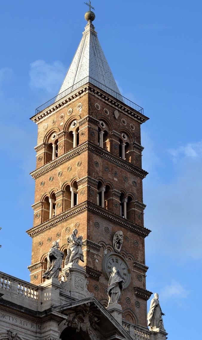 Санта-Мария-Маджоре, колокольня