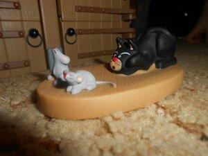 Животные на Ферме №66: лестница, кот и мыши