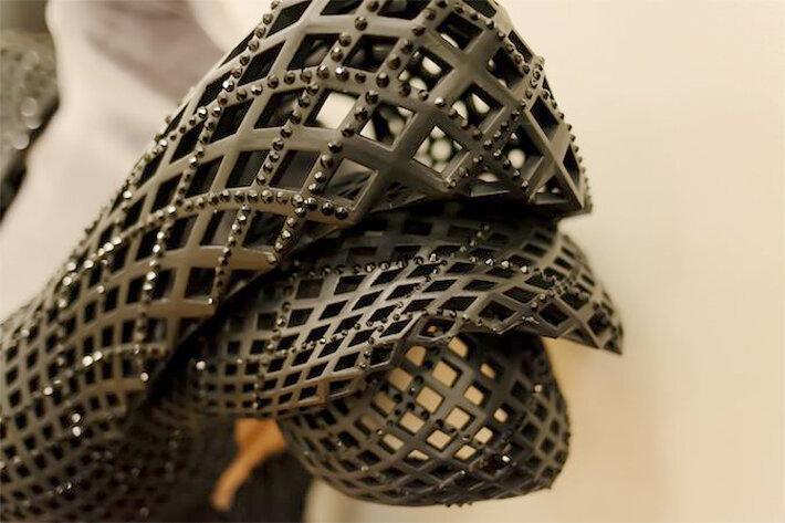 Дита фон Тиз в 3D платье