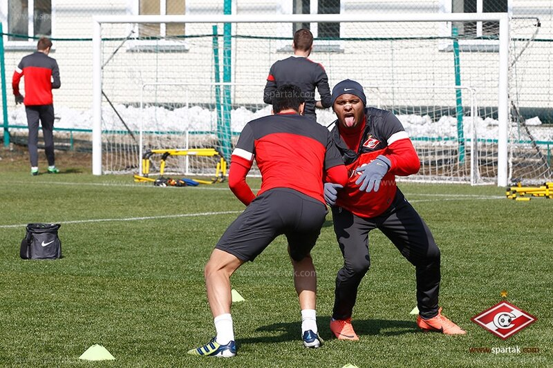 Силовая тренировка «Спартака» перед дерби (Фото)