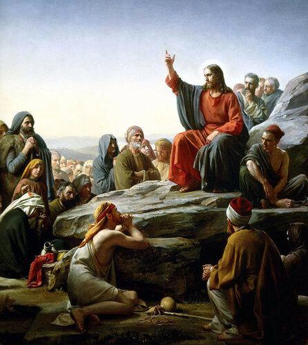 Нагорная проповедль Христа - Карл Блох