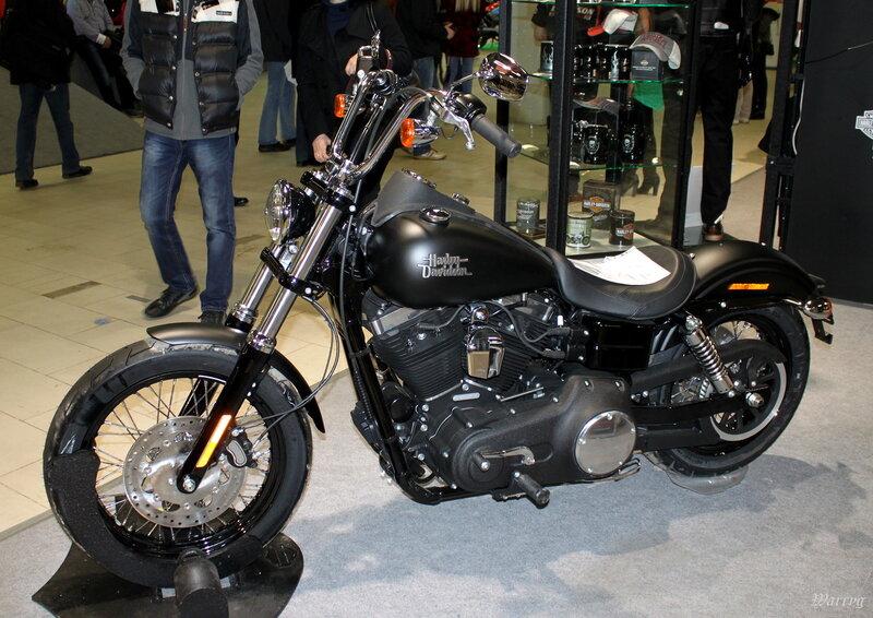 Обновлённый Harley-Davidson Street Bob