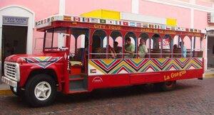 туристический автобус Carnavalito