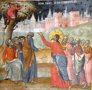 Predică la pericopa evanghelică despre Zaheu.