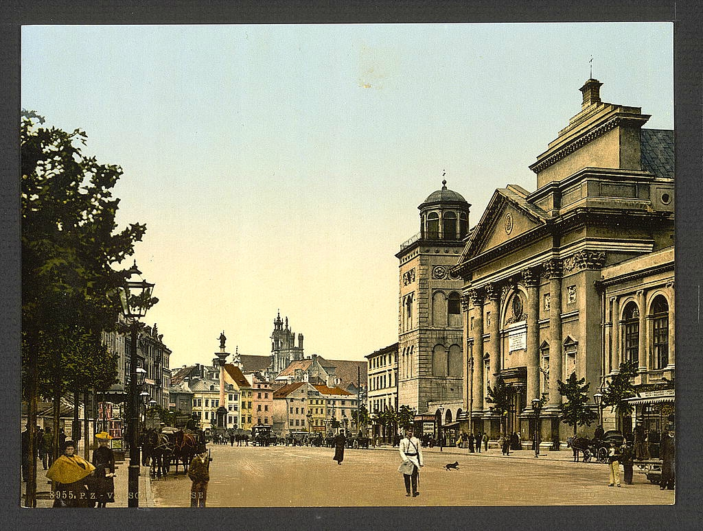 Польша в 1890 - 1900 годах