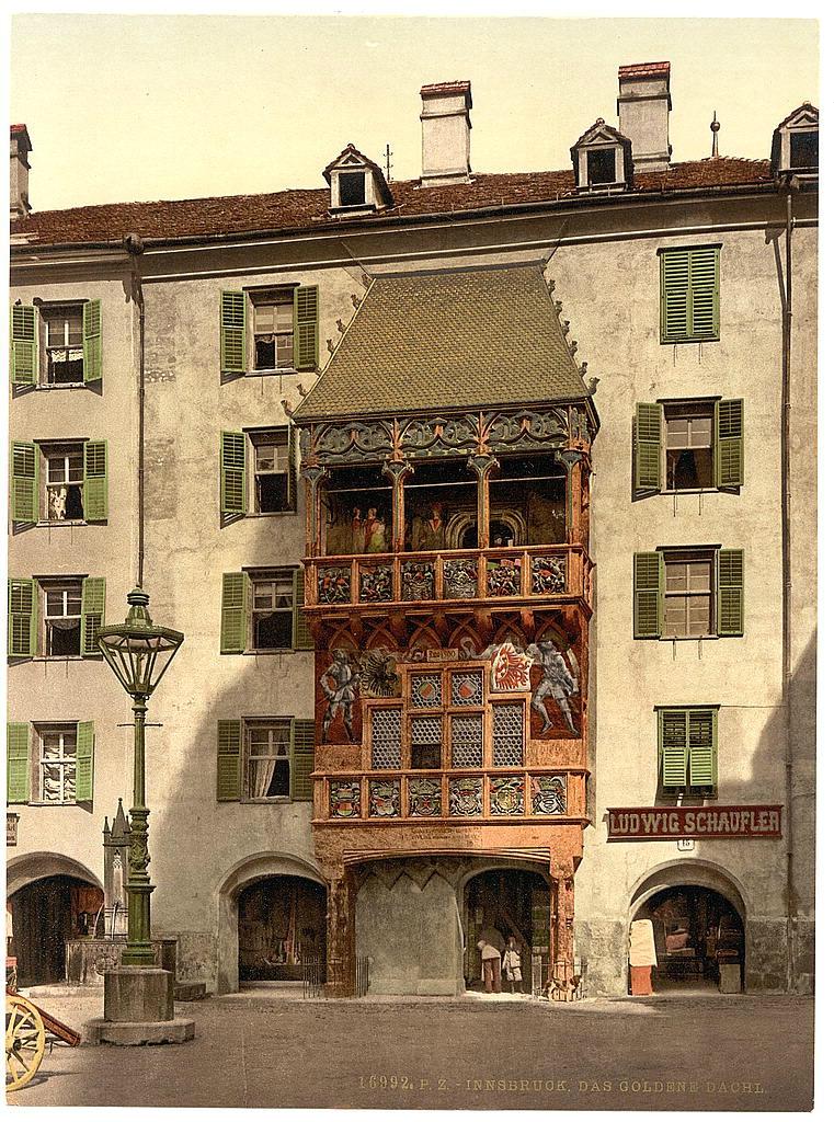 Австрия. Тироль 1890 - 1900 гг 0_80af9_ef83965a_orig
