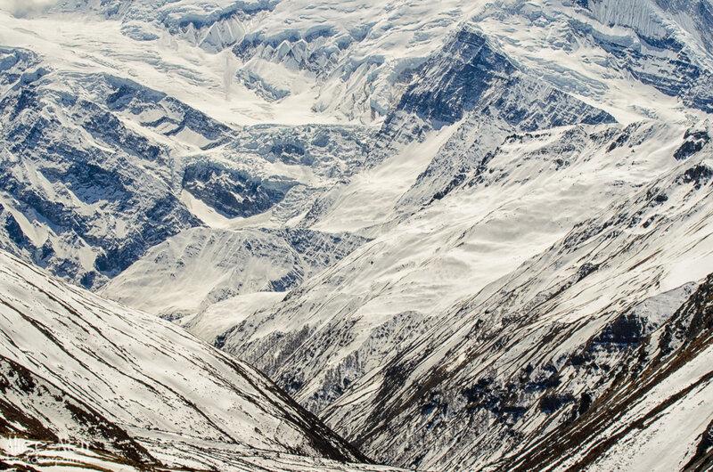 горы, гимлаи, снег в горах