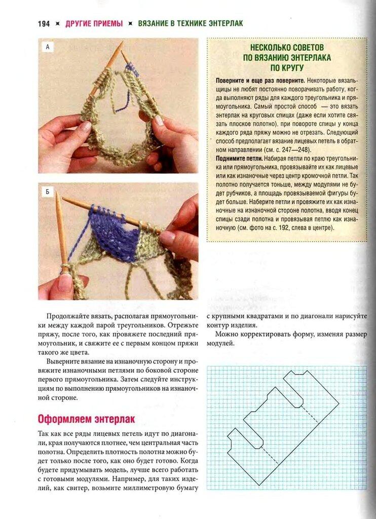Носки техника вязания энтерлак