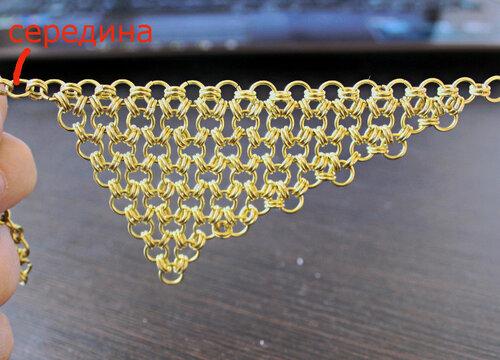Плетение из проволоки цепочек своими руками