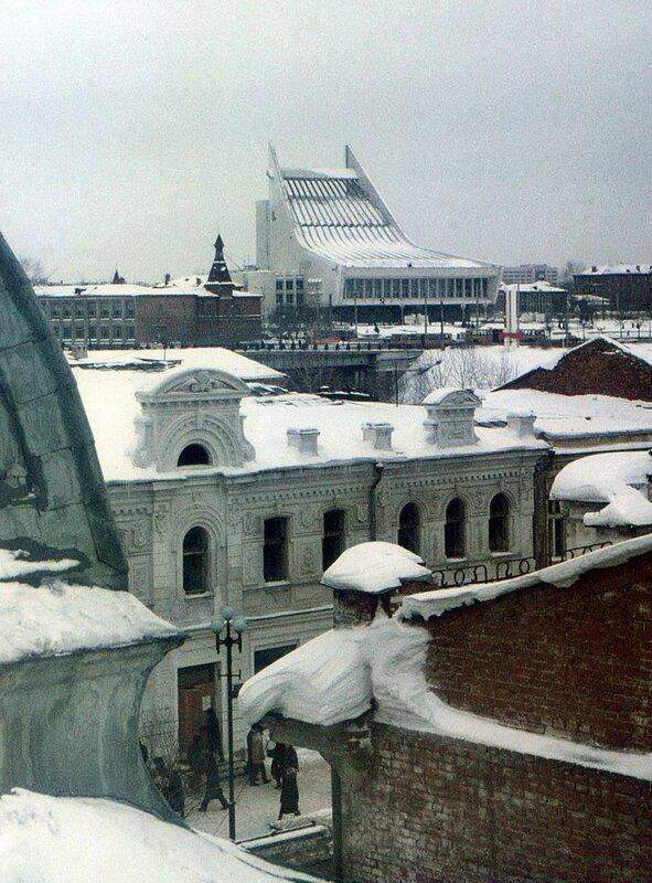 Зимний вид на музтеатр