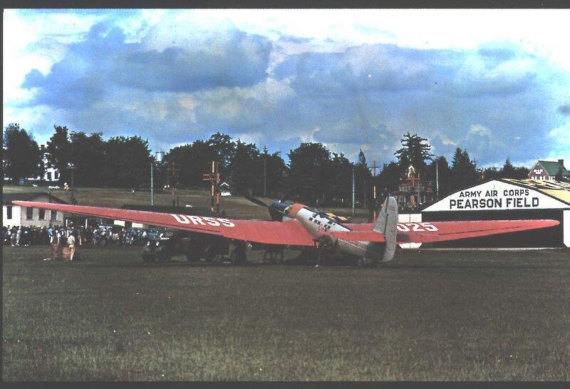 Самолёт Чкалова в Ванкувере