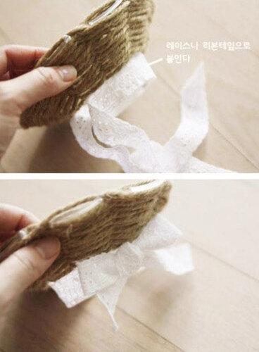 Корзина без плетения