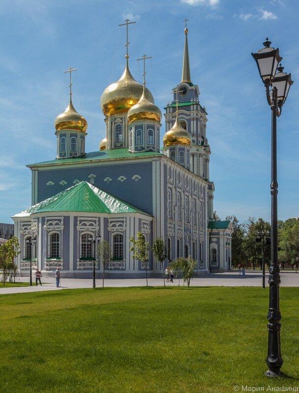 Успенский собор и Колокольня Тульского кремля