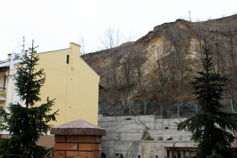 Оползень на горе Хоривице