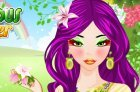 Макияж из фруктов игра для девчат winx