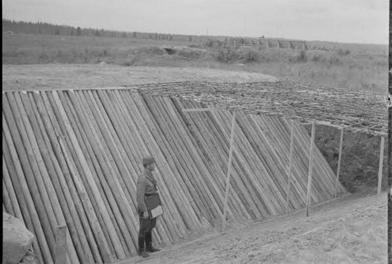Финны в Петрозаводске (Petroskoi) Захваченный город