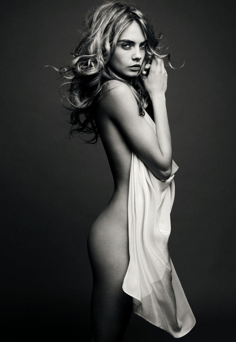 модель Кара Делевинье / Cara Delevingne, фотограф Solve Sundsbo