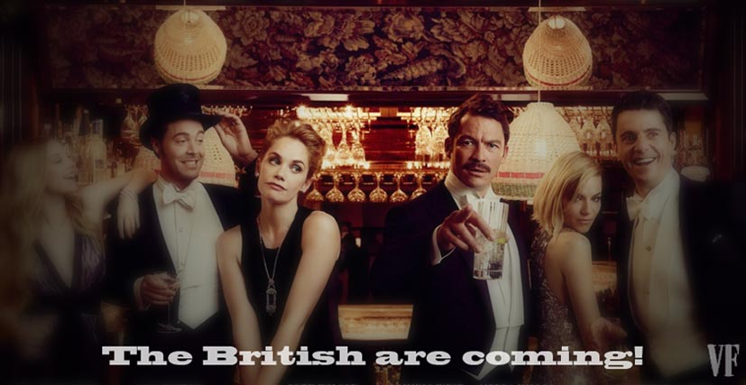 Лучшие британские актеры в проекте The 2015 Hollywood Portfolio by Jason Bell in Vanity Fair march 2015
