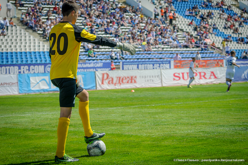 вратарь ротор футбол панько pavelpanko.livejournal.com