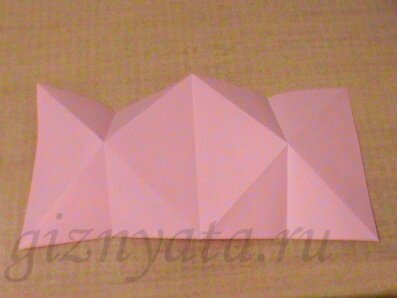 валентинка оригами