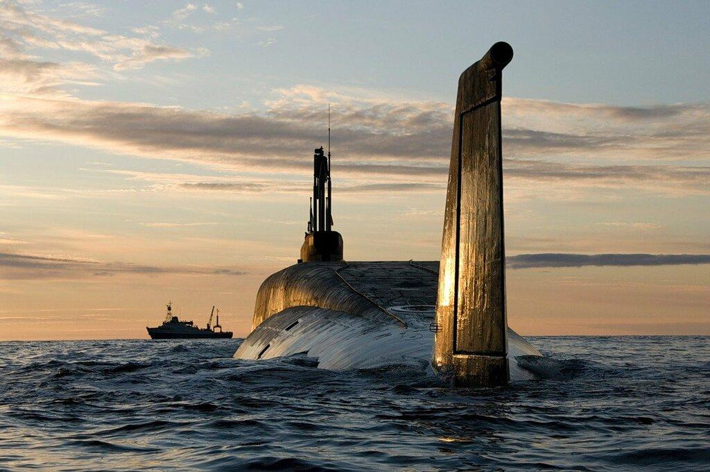 атомный подводный ракетный крейсер стратегического назначения Владимир Мономах