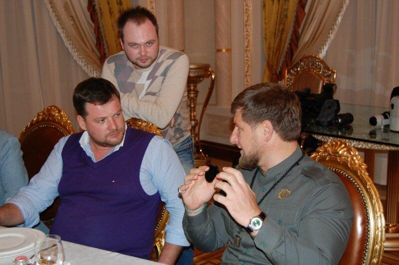 встреча блогеров и рамзана кадырова