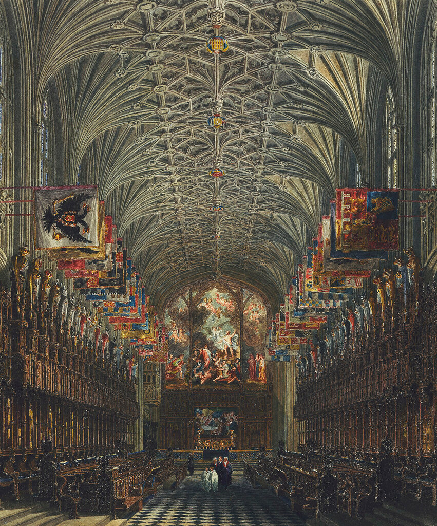 Windsor Castle: The Quire of St George?s Chapel